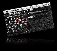 Rainlendar on Mac OS X