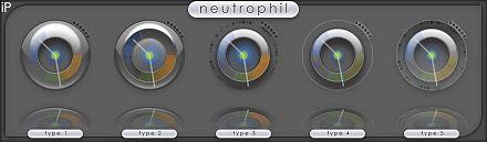 Neutrophil, for iPulse, by mrbiotech 2009